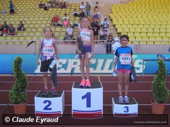 2 podiums aux 1000m du meeting HERCULIS